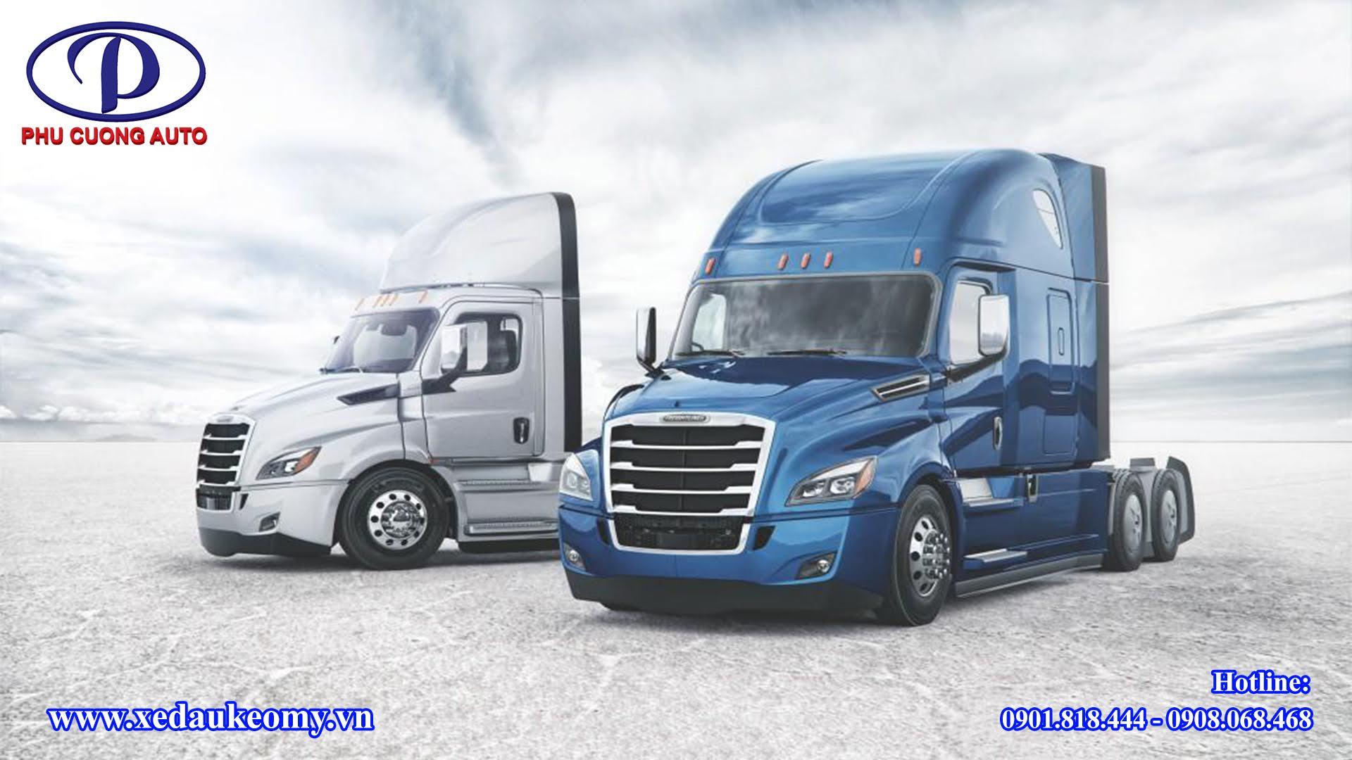 Giới thiệu về xe đầu kéo Mỹ Freightliner Cascadia